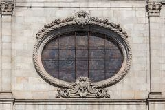 Detail of the church Merce in Barcelona Royalty Free Stock Image