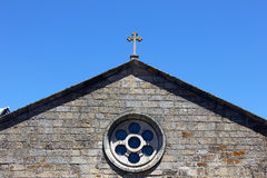 Detail of a church, Monsanto, Portugal Stock Photo