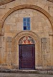 The detail of church near Tbilisi, Georgia Stock Photos