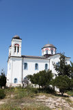 Church on Paros island Stock Photography