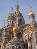 Detail of Church of the Saviour on Spilled Blood Royalty Free Stock Image
