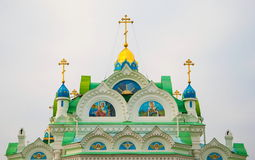 Detail of the church of St. Catherine Royalty Free Stock Photography