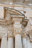 Church of St. Domenico. Castellaneta. Puglia. Italy. Stock Photography