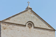 Detail of a church Stock Image
