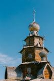 Detail of Church of Transfiguration in Old Russian Town of  Suzd Stock Images