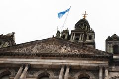 Glasgow City Chambers. Detail of the City Chambers, Glasgow, UK Royalty Free Stock Images