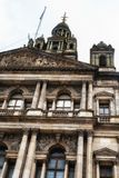 Glasgow City Chambers. Detail of the City Chambers, Glasgow, UK Royalty Free Stock Photo