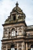 Glasgow City Chambers. Detail of the City Chambers, Glasgow, UK Stock Photos