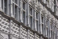 Detail of the city hall in Lubeck Stock Photos