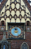 Detail of the City Hall, Wroclaw, Poland Royalty Free Stock Photography
