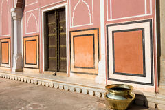 Detail, City Palace, Jaipur Royalty Free Stock Photo