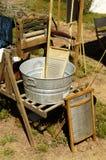 Detail in a Civil War Encampment 3. Antique domestic items found in a civil war encampment Royalty Free Stock Photo