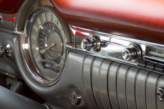 Detail of a classic car Stock Photos