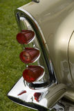 Detail of a classic car. Close up detail of a classic car at a car show Royalty Free Stock Photo