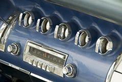 Detail of a classic car Stock Photos