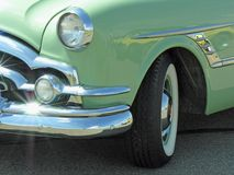 Detail of a Classic Car Royalty Free Stock Image