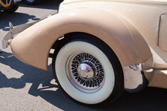 Detail of a classic car Royalty Free Stock Images