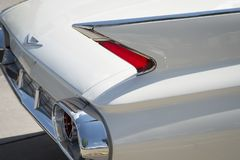 Amercan classic cars. Detail of classic custom American show car Stock Photography