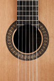 Detail of classic guitar Stock Image
