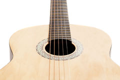 Detail of classic guitar Royalty Free Stock Photography
