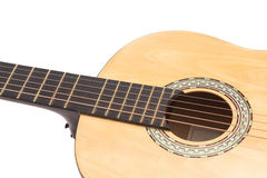 Detail of classic guitar Stock Images