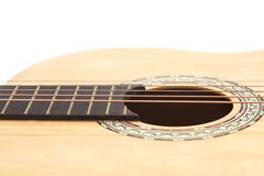 Detail of classic guitar Royalty Free Stock Photos
