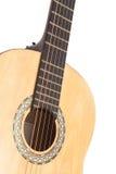 Detail of classic guitar Stock Photos