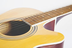 Detail of classic guitar Royalty Free Stock Image
