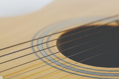 Detail of classic guitar Royalty Free Stock Photo
