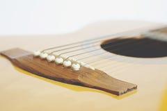 Detail of classic guitar Stock Image