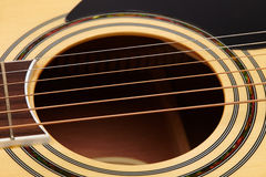 Detail of classic guitar string Stock Photo