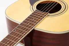 Detail of classic guitar string Royalty Free Stock Photography
