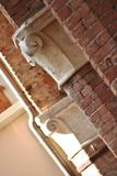 Detail of classical architecture in Corinaldo, Marche, Italy Royalty Free Stock Image