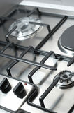 Detail of classical cooking stove Stock Photo
