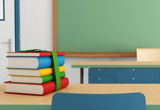 Detail of a classroom Stock Photos