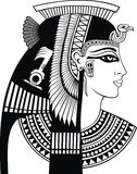 Detail of cleopatra head Royalty Free Stock Photo