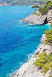 Cliff coast in Spain Stock Image