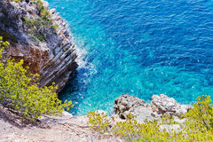 Cliff coast in Spain Stock Photos