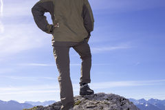 Detail of a climber Stock Photo