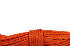 Detail of a Climbing Rope Royalty Free Stock Images
