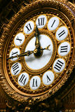 Detail of clock in Orsay museum Royalty Free Stock Photography