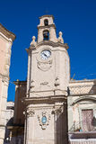 Clocktower. Massafra. Puglia. Italy. Royalty Free Stock Images