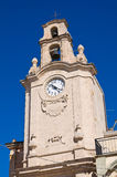 Clocktower. Massafra. Puglia. Italy. Royalty Free Stock Photo