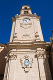Clocktower. Massafra. Puglia. Italy. Royalty Free Stock Photos