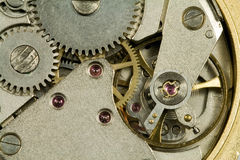 Detail of clockwork Stock Image