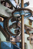 Detail of clockwork from colcktower Royalty Free Stock Photo