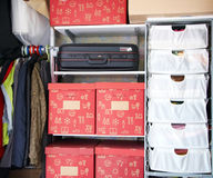 Detail of closet Royalty Free Stock Images