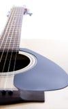 Detail closeup of classic guitar Royalty Free Stock Photos