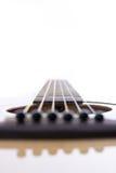 Detail closeup of classic guitar Stock Photo