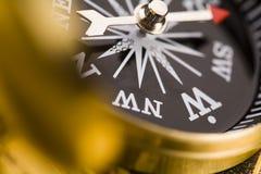 Detail closeup compass Stock Photos
